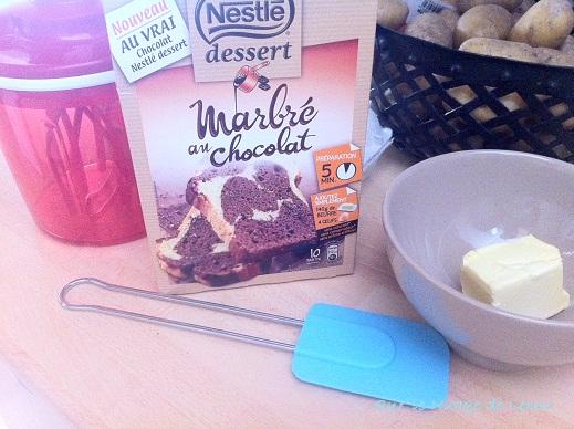 Marbré au chocolat de Nestlé