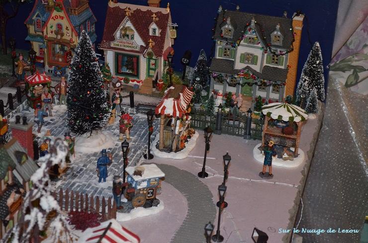 Son village de no l sur le nuage de lexou - Decoration village de noel ...