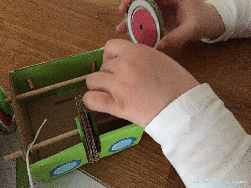 Robot Pandacraft
