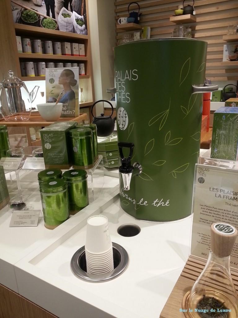 boutique Palais des thés