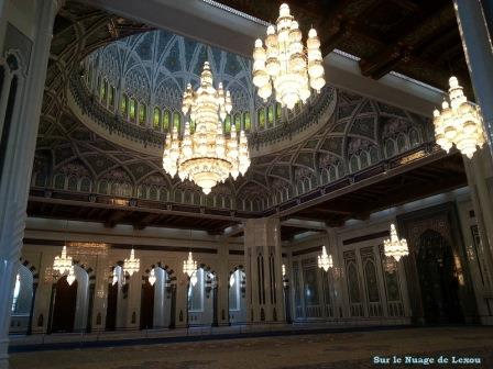 Mosquée Mascate Lustre