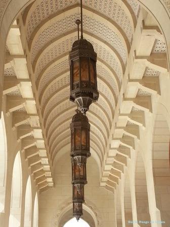 Mosquée Mascate Oman