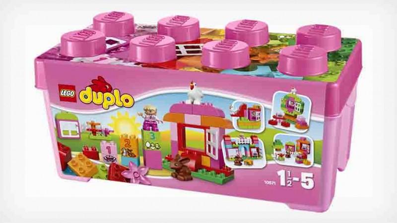 Boîte briques Lego Duplo