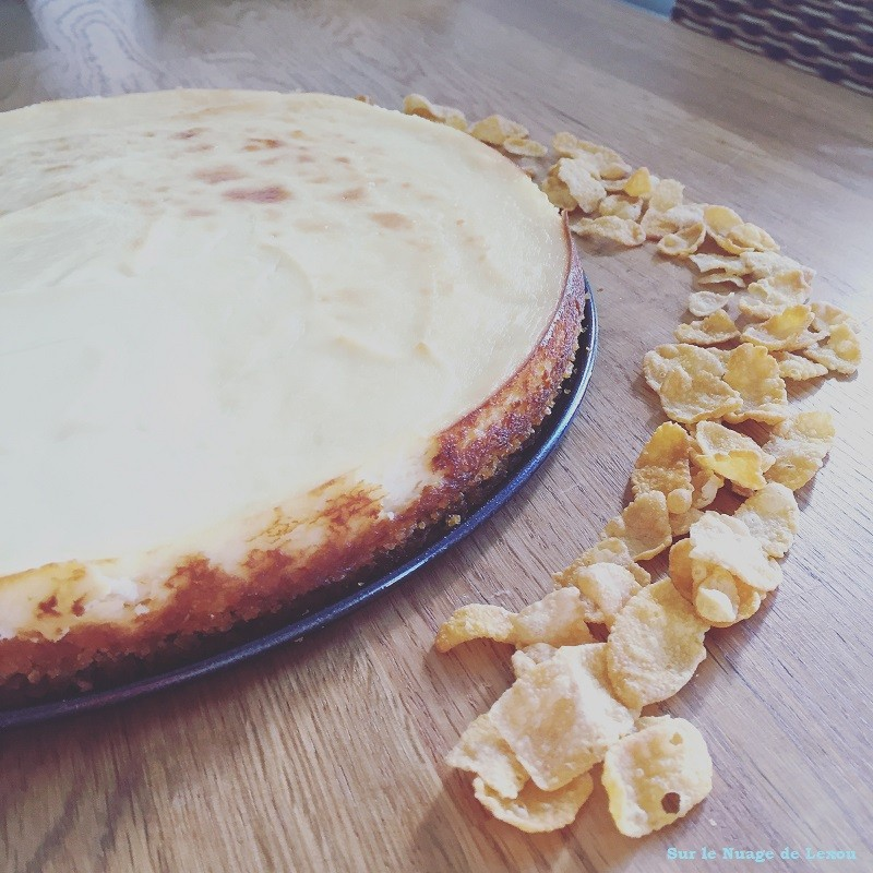 Cheese cake citron Lexou