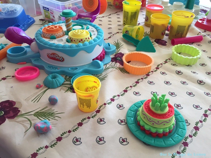 Play Doh patisserie