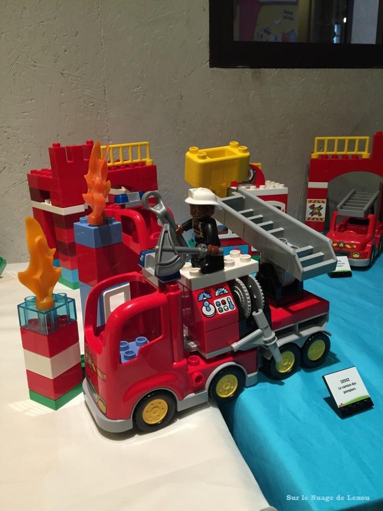 Camion pompiers Duplo