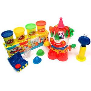 Clown Play Doh