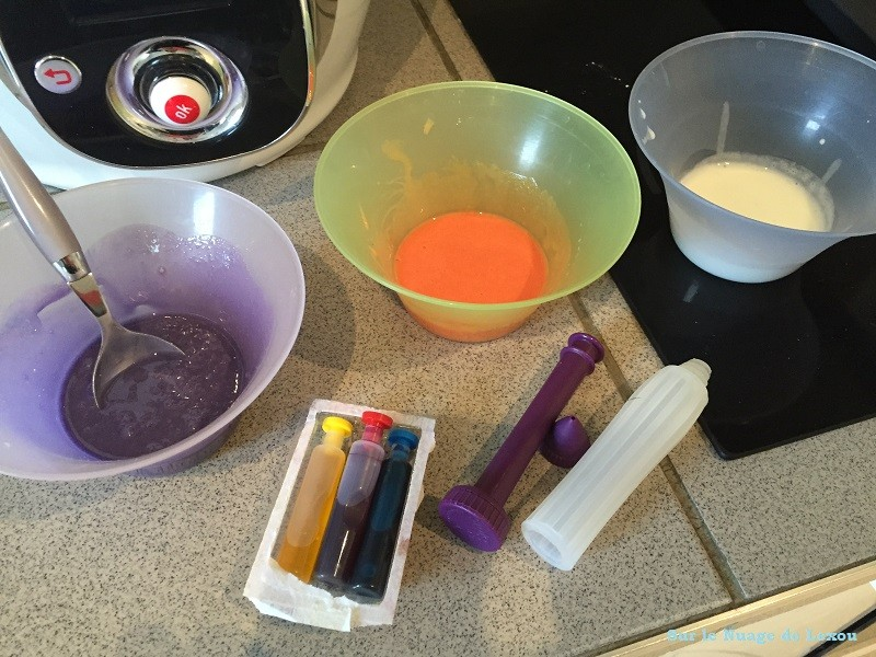 Colorant sablés glacage