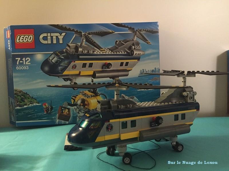 Helicoptère de haute mer Lego