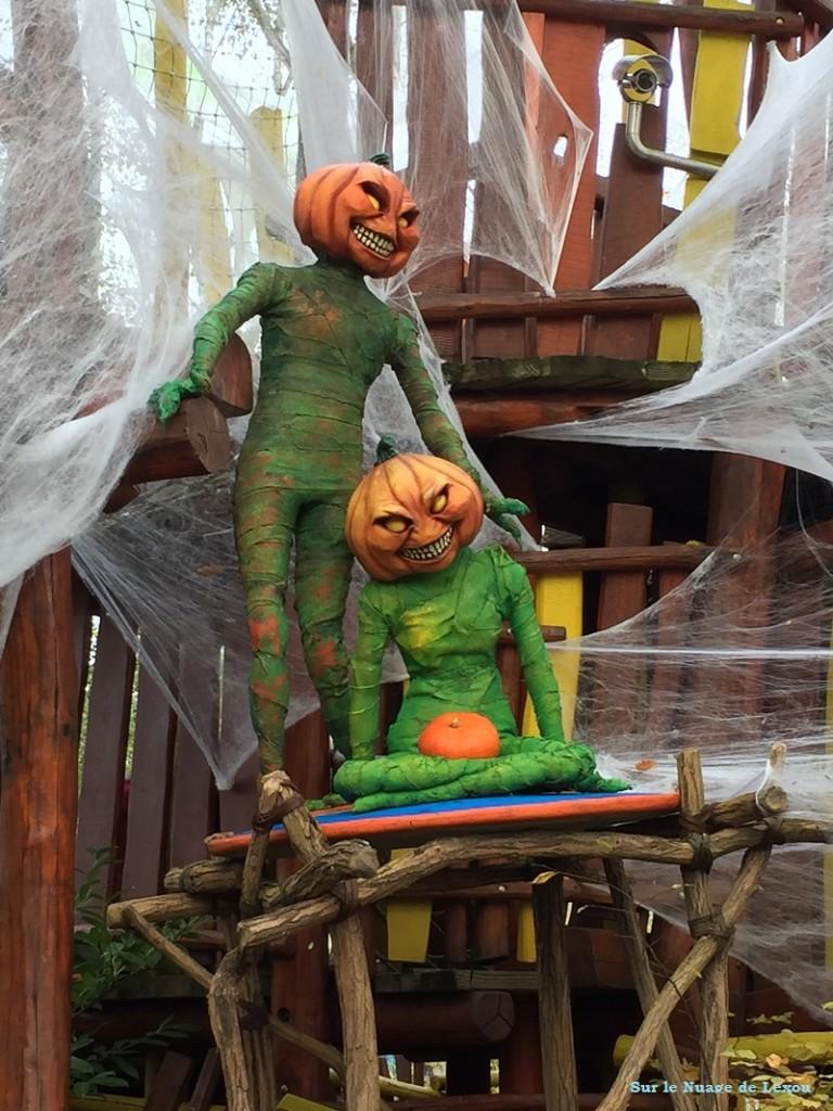 déco parc Astérix Halloween