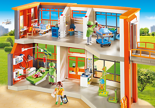 HOPITAL PEDIATRIQUE PLAYMOBIL