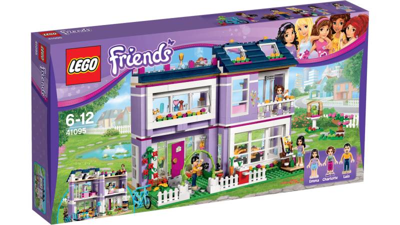 MAISON EMMA LEGO FRIENDS
