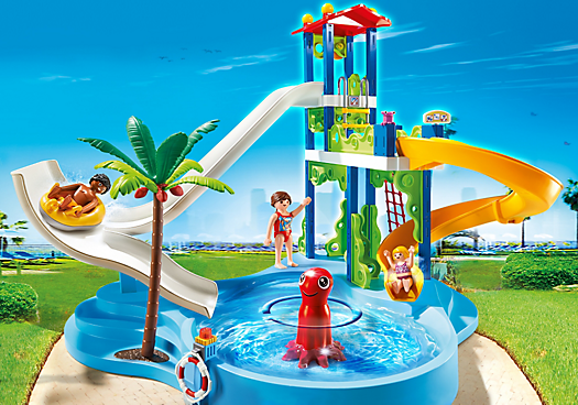 PARC AQUATIQUE PLAYMOBIL