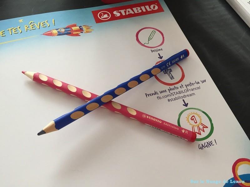 Crayons de couleurs Stabilo