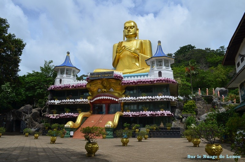 Dambulla Temple d'or