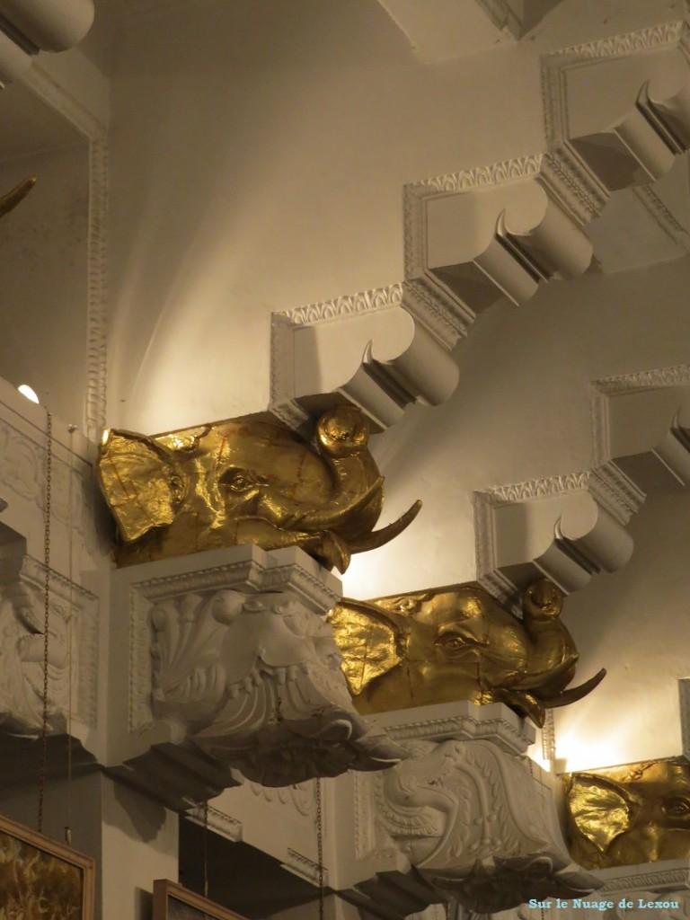 Interieur Temple de la dent