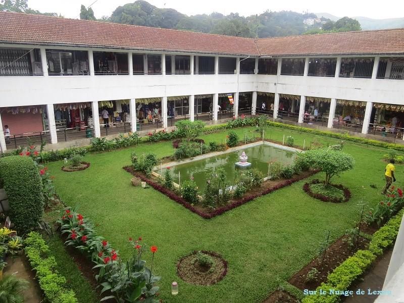 Marché couvert de Kandy