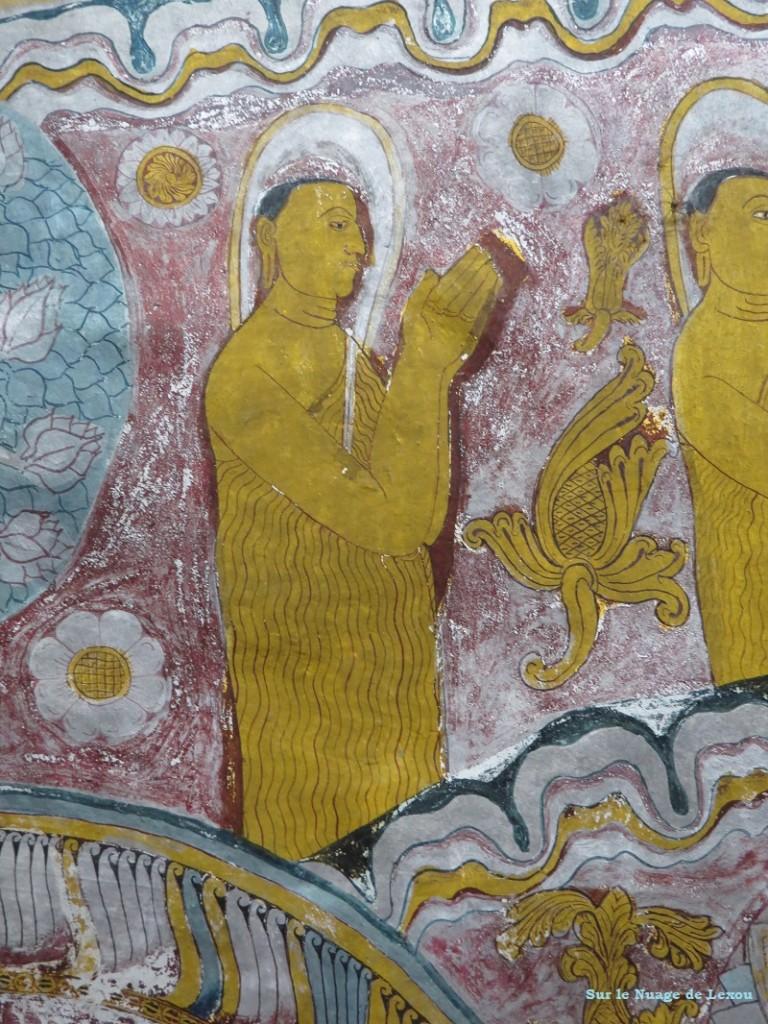 Peintures grottes Dambulla