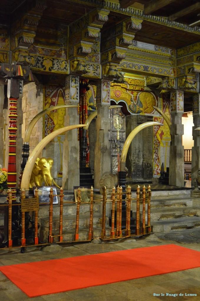 Temple de la dent Sri Lanka