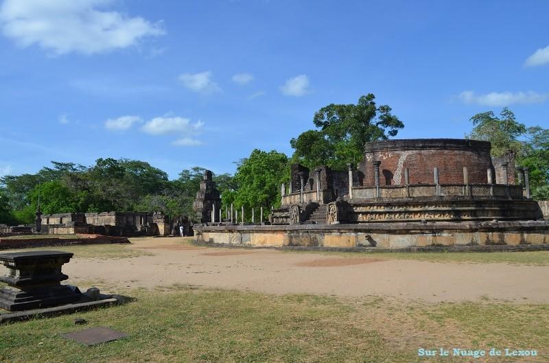 Vestiges Polonnaruwa