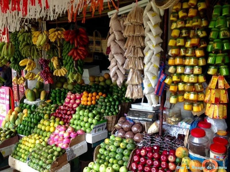marché couvert Kandy