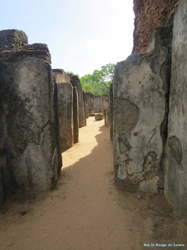palais royal site Polonnaruwa