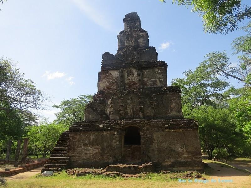 temple hindouiste Polonnaruwa