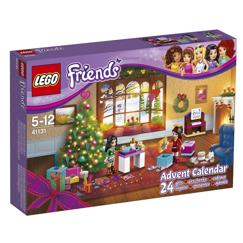 Calendrier avent Lego Friends 2016