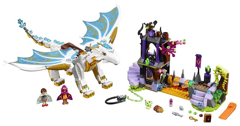 Lego Elves sauvetage reine dragon