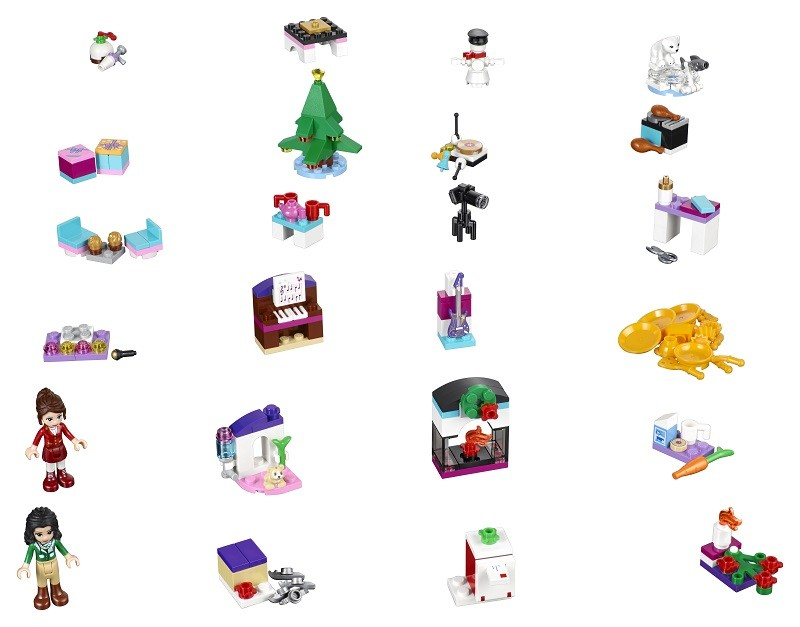 Lego Friends calendrier avent 2016