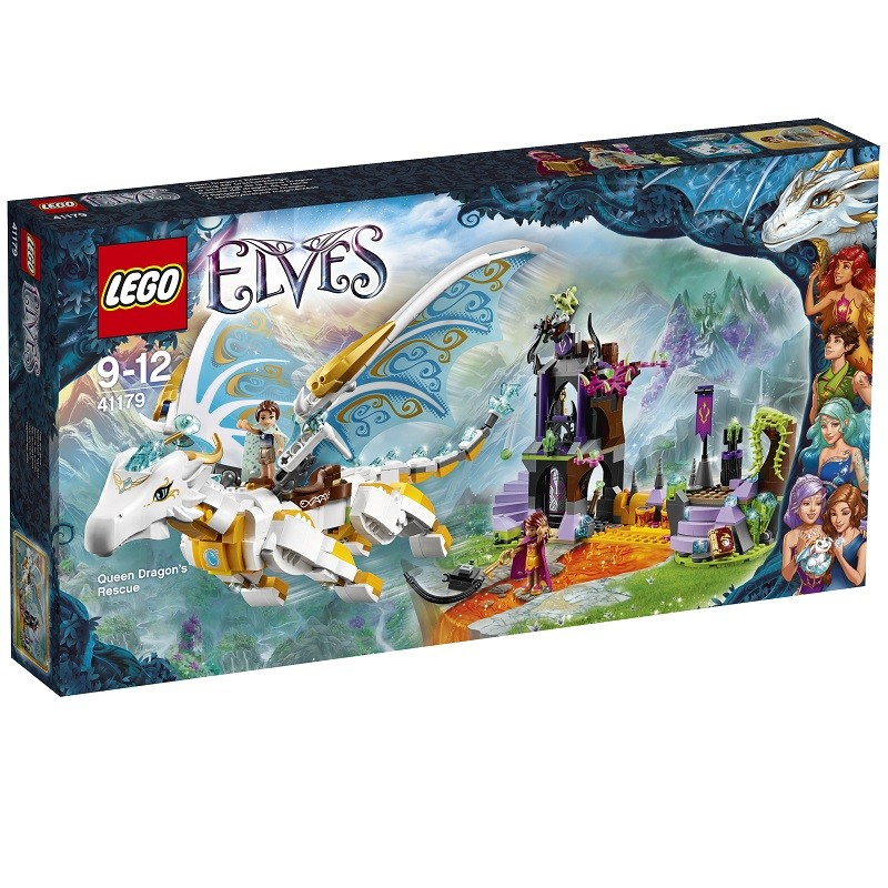 Sauvetage reine dragon Lego Elves