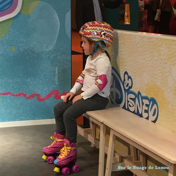 Test patins Soy Luna