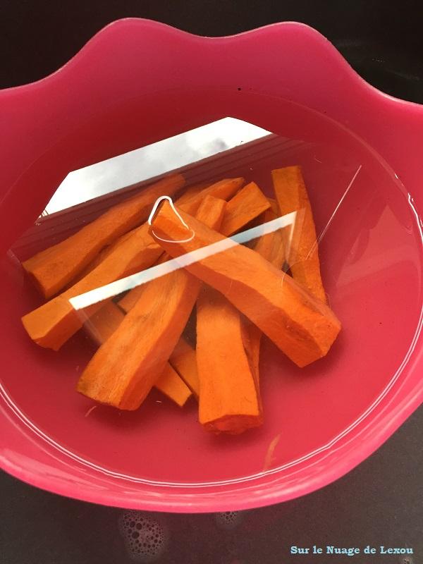 carottes soupe