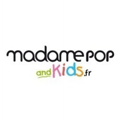 LOGO MADAME POP AND KIDS