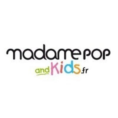 LOGO MADAME POP AND KIDS
