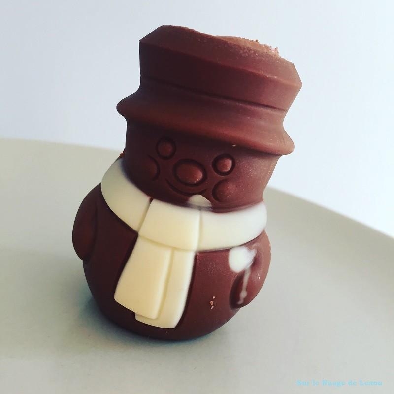 BONHOMME DE NEIGE CHOCOLAT PICARD
