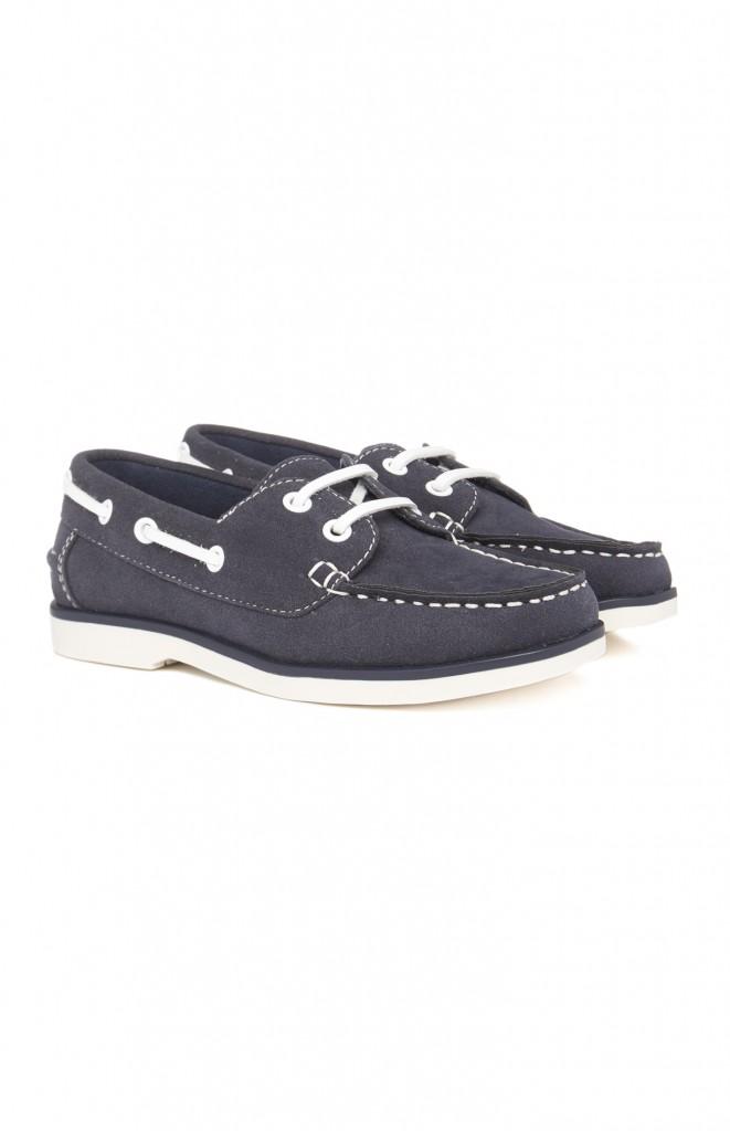 Chaussures bateau bleu fonce¦ü 13E 2
