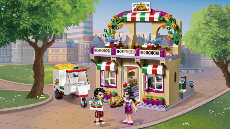 LEGO PIZZERIA HEARTLAKE CITY