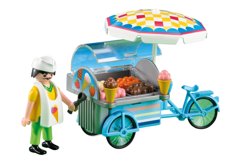 MARCHAND DE GALCE PLAYMOBIL