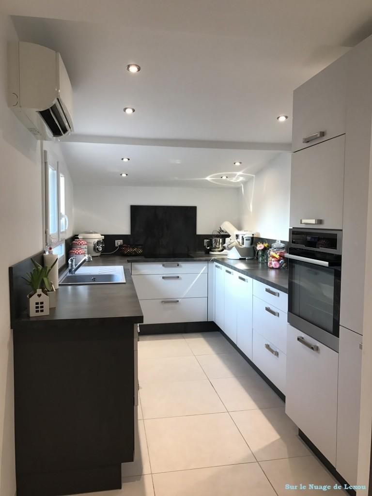 cuisine grise maison lexou
