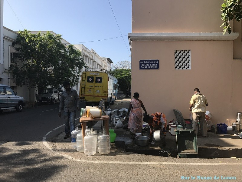 RUE DU BAZAR SAINT LAURENT PONDICHERY