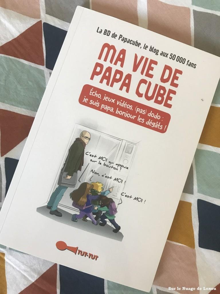 LIVRE PAPA CUBE
