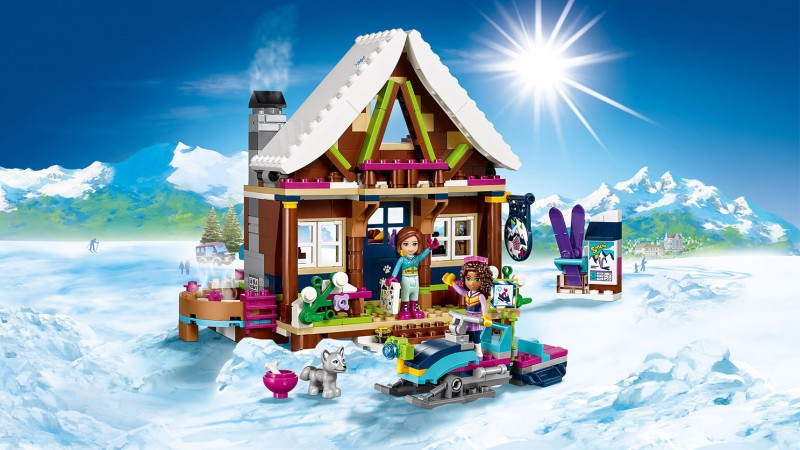 chalet lego friends