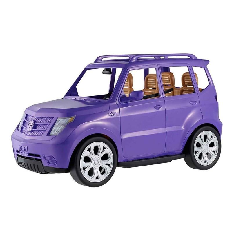 Le 4x4 de Barbie, mauve