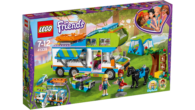 Le camping Car Lego Friends