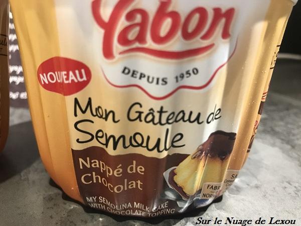 YABON GATEAU SEMOULE