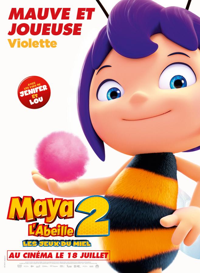MAYA L'ABEILLE 2 - LES JEUX DU MIEL - Violette