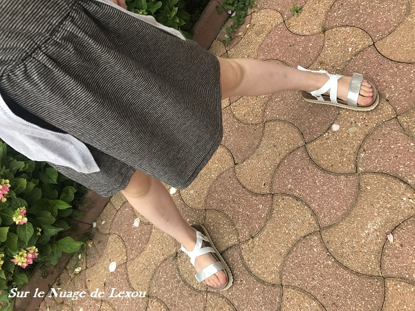 SANDALES BLANCHES FILLE