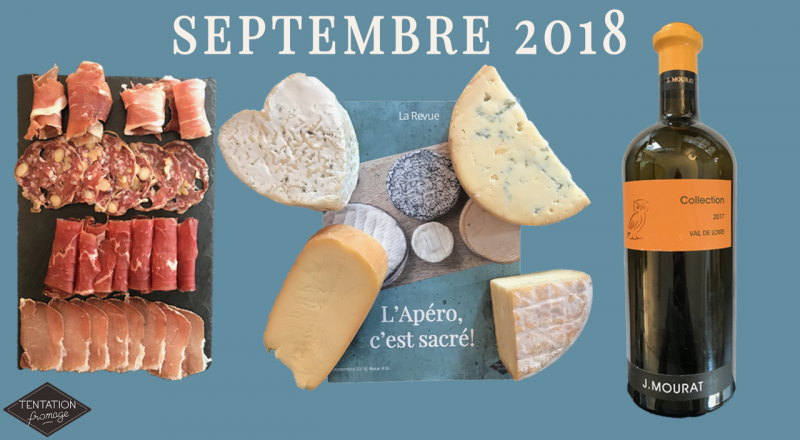 BOX SEPTEMBRE TENTATIONS FROMAGES