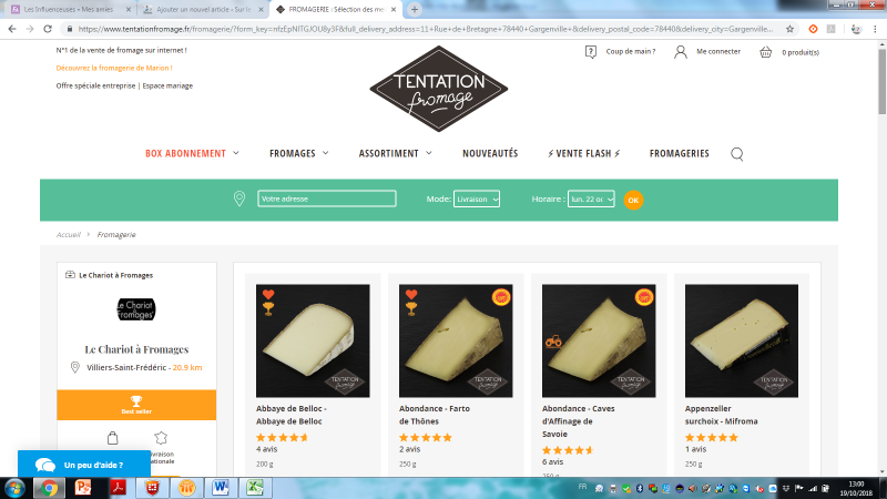 FROMAGES A DOMICILE